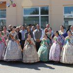 El alcalde de Sta. Magdalena participa en la Cremà de las Fallas del IVASS y Collet