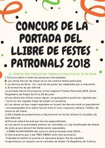 CONCURS DE LA PORTADA DEL LLIBRE DE FESTES PATRONALS