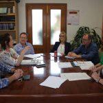 La directora territorial de Sanidad se reúne con los alcaldes de Sta. Magdalena y Alcalà-Alcosssebre