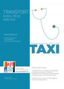 Ja es pot sol·licitar l'ajuda per a transport rural amb finalitats mèdiques