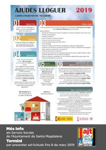La Generalitat publica las bases de las ayudas para el alquiler