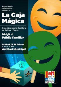 Sta. Magdalena programa 'La Caja Mágica' en el Auditorio Municipal