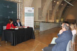 L'alcalde de Sta. Magdalena assisteix a la presentació de les operacions de l´EDUSI entre Benicarló i Vinaròs