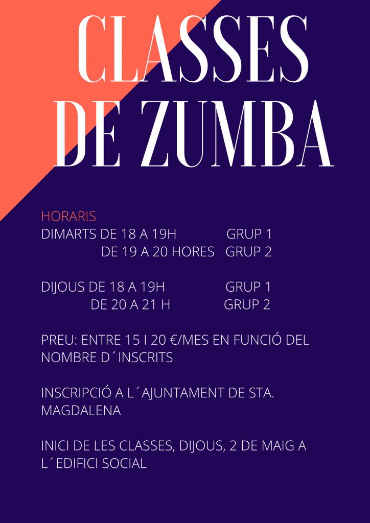 CLASSES DE ZUMBA (1)