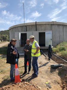 El director general del Agua visita Sta. Magdalena