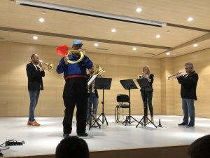 Espectacular concierto de DeVanda Brass Quintet en Santa Magdalena