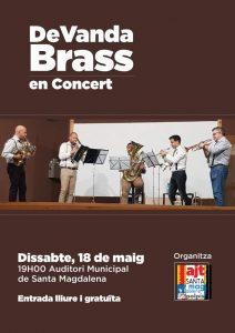DeVanda Brass Quintet actúa el sábado en el Auditorio de Sta. Magdalena