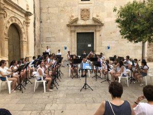 Las Bandas infantiles de Santa Magdalena y Vinaròs  unidas por la música
