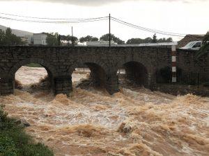 La Generalitat concede una ayuda de más de 36.300 € para paliar los daños de las lluvias torrenciales de octubre de 2018