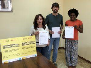Santa Magdalena finaliza los cursos de inglés y valenciano impartidos por el Obsedi