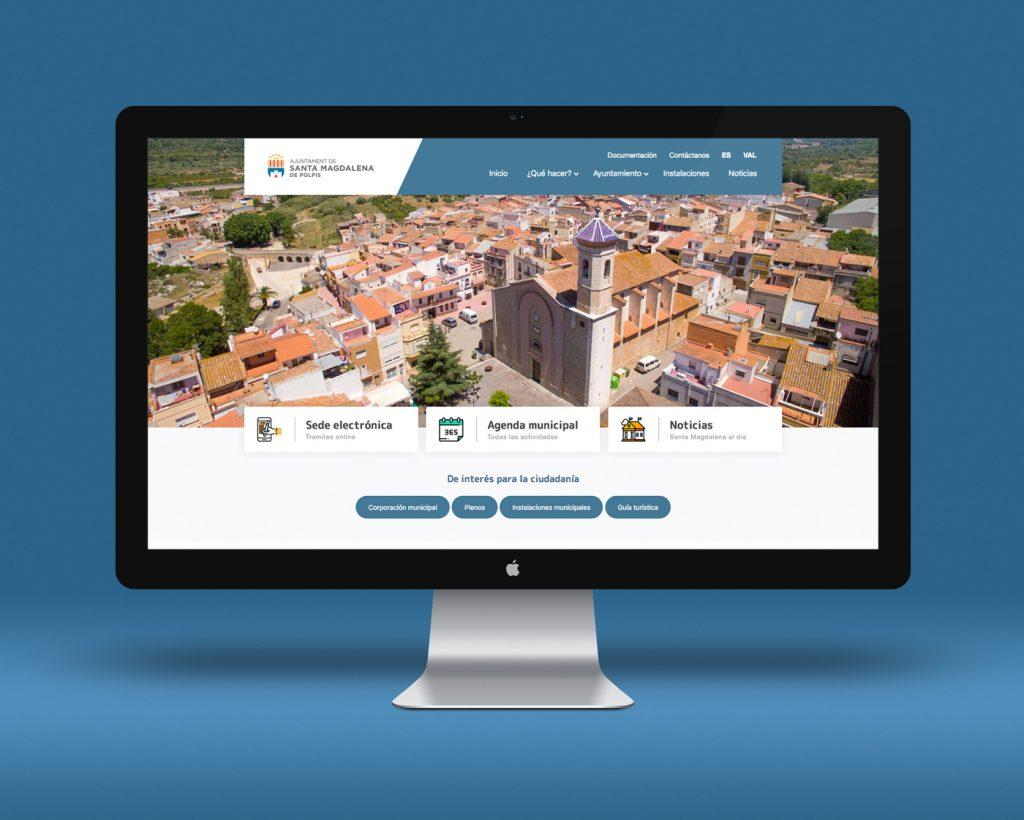 Imatge de la nova web.