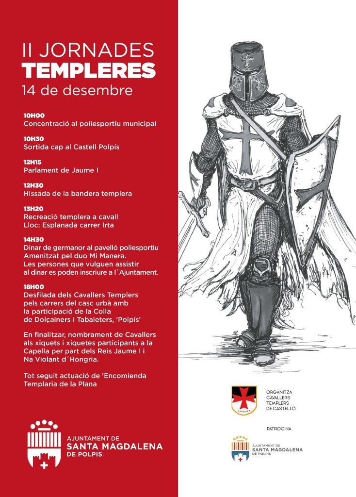 Santa Magdalena celebra las II Jornadas Templarias