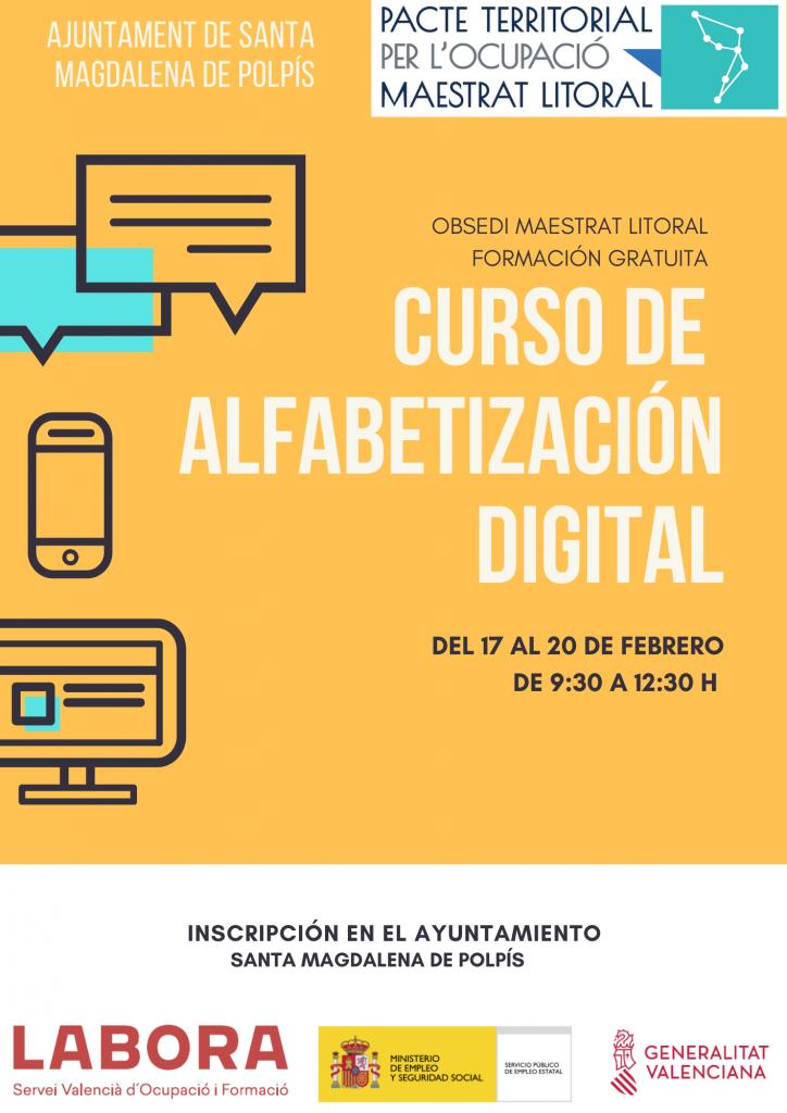 L´Obsedi Maestrat Litoral posa en marxa un Curs d'Alfabetització Digital a Santa Magdalena