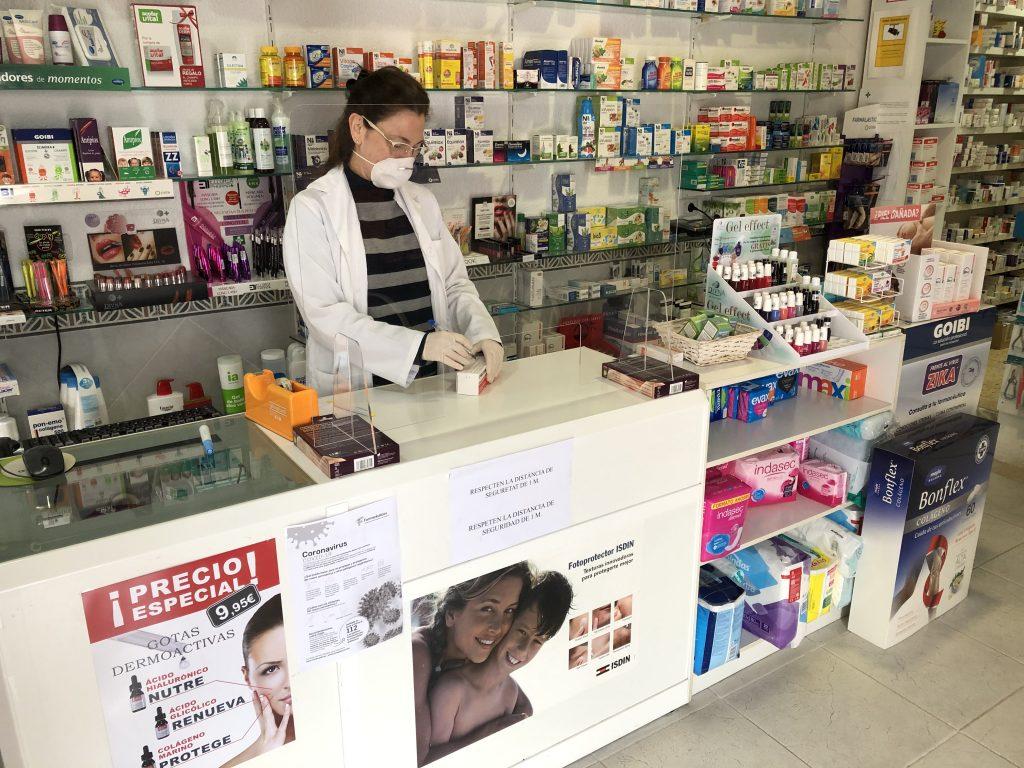 La farmacia de Santa Magdalena ofrece servicio a domicilio