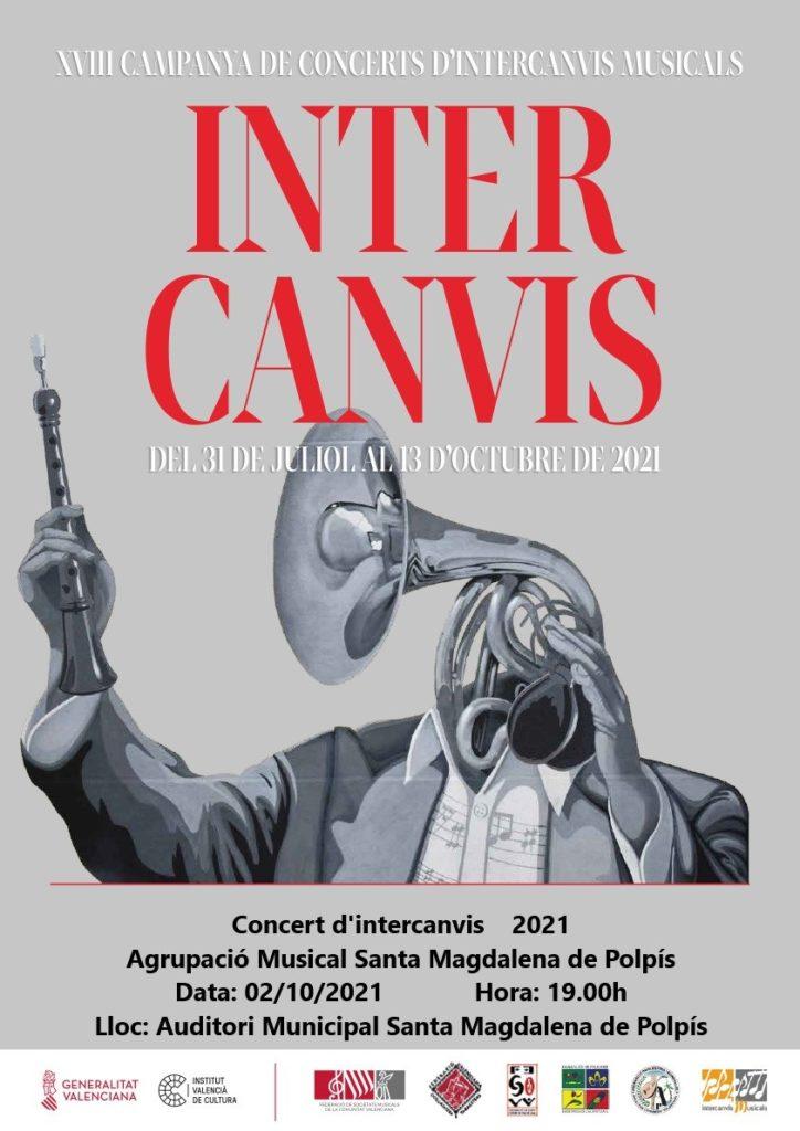 L'Agrupació Musical de Santa Magdalena realitza un concert dins de la campanya d'Intercanvis Musicals